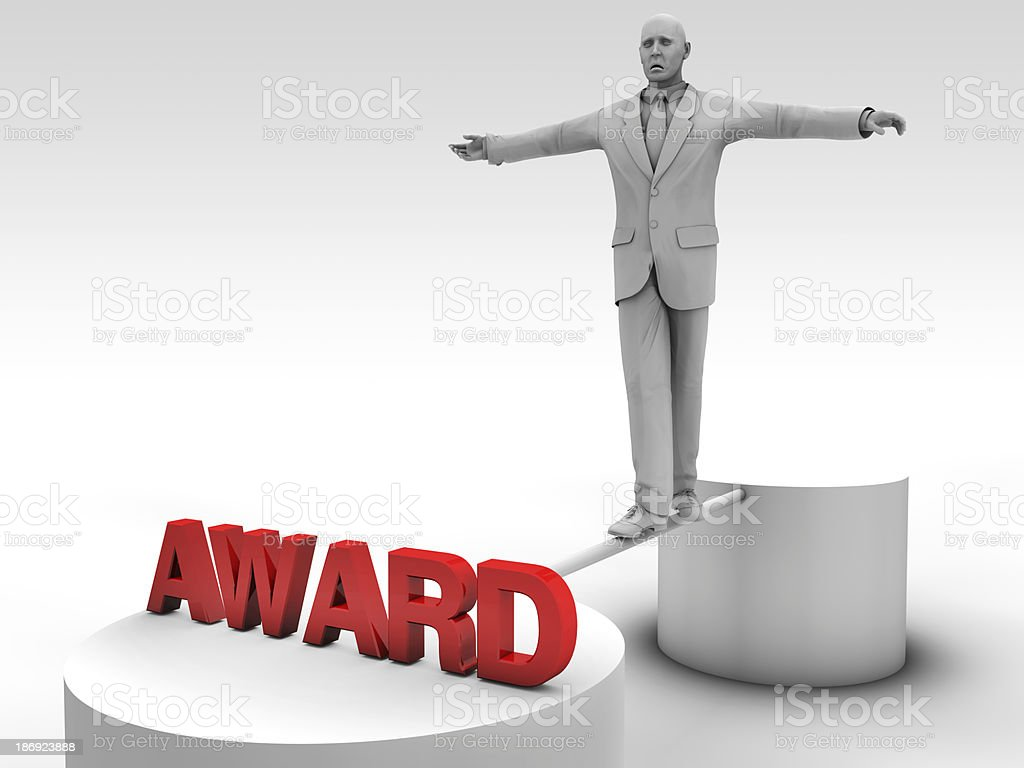 The road to award royalty-free stock photo