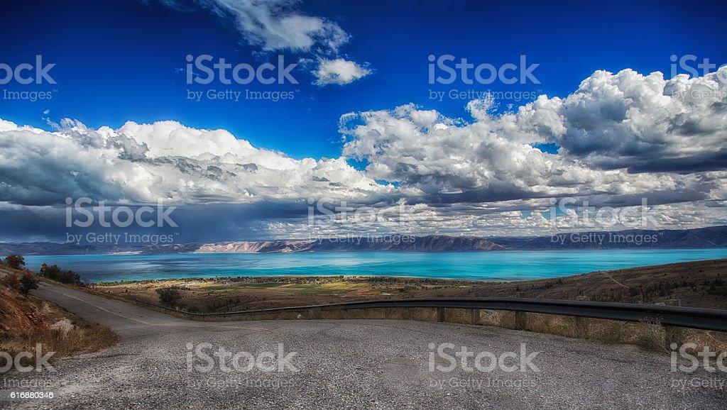 The Road to Bear Lake stock photo