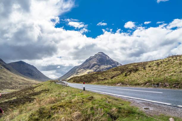 Die Straße nach Glencoe in den schottischen highlands – Foto