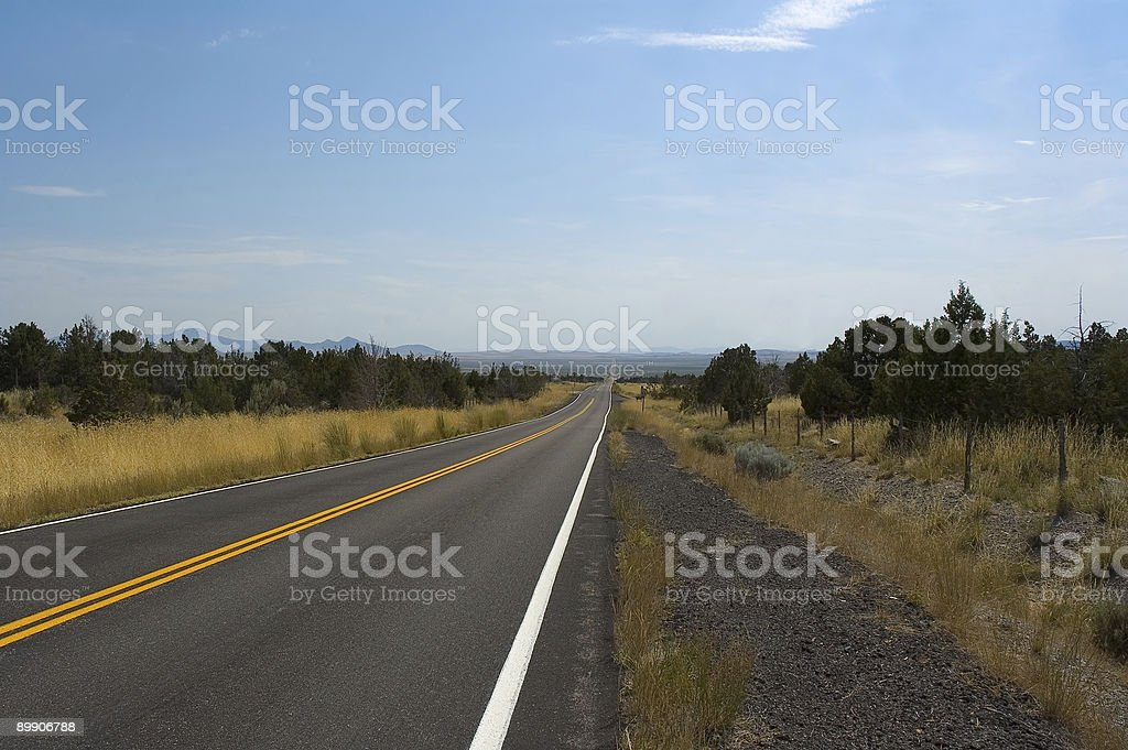 The road to infinity royalty-free stock photo
