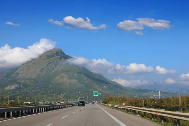 El camino a Palermo, Italia - foto de stock