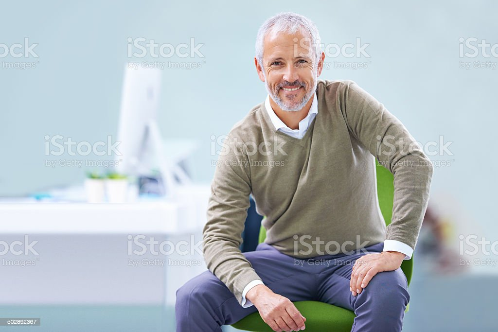 The road to success has been smooth stock photo