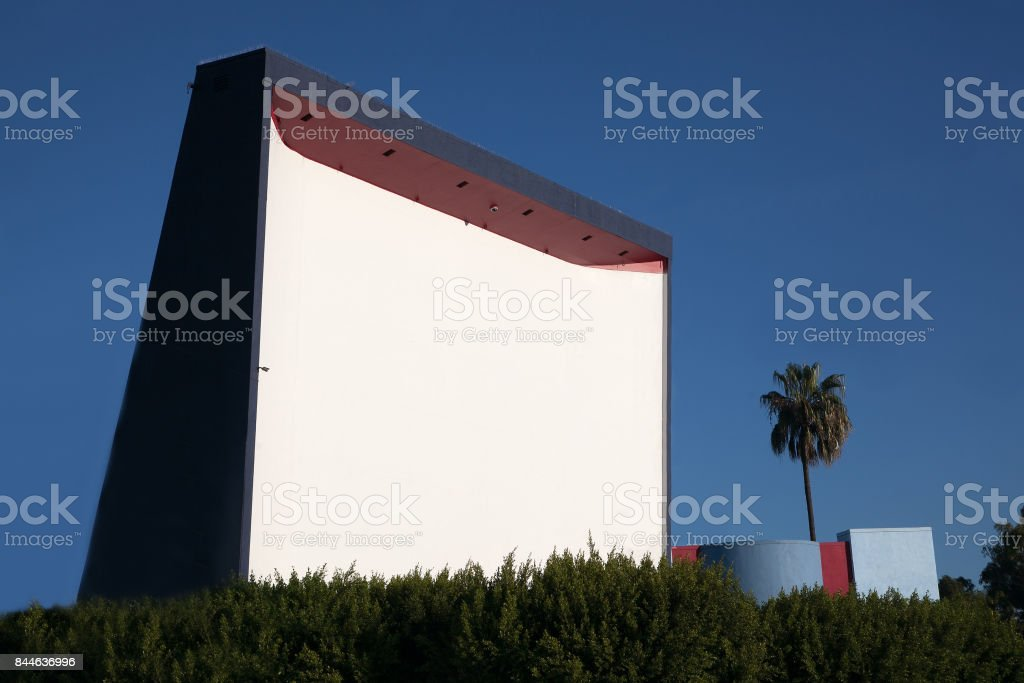 The Roadium in southern CA is a very popular drive in theater turned swap meet flea market stock photo