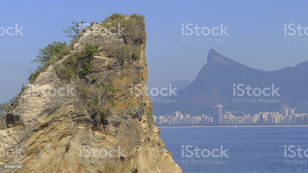 The Rock and Sugar Loaf stock photo