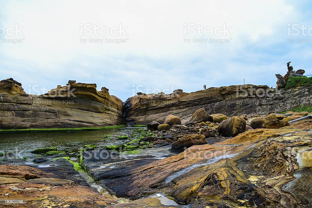 The rock garden royalty-free stock photo