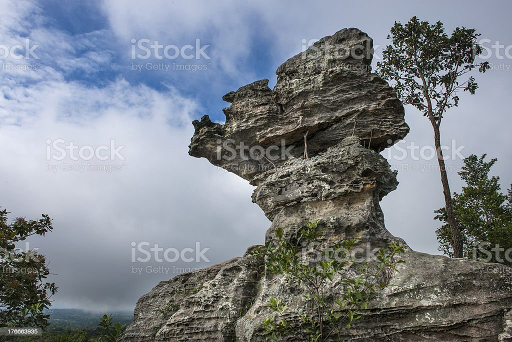 The Rock in thailand royalty-free stock photo