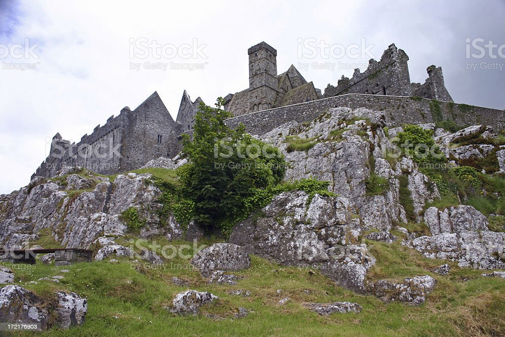 The Rock of Cashel stock photo