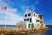 istock The Rockland Breakwater Lighthouse 1160930135