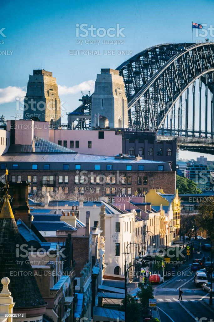 The Rocks In Sydney, Australia stock photo