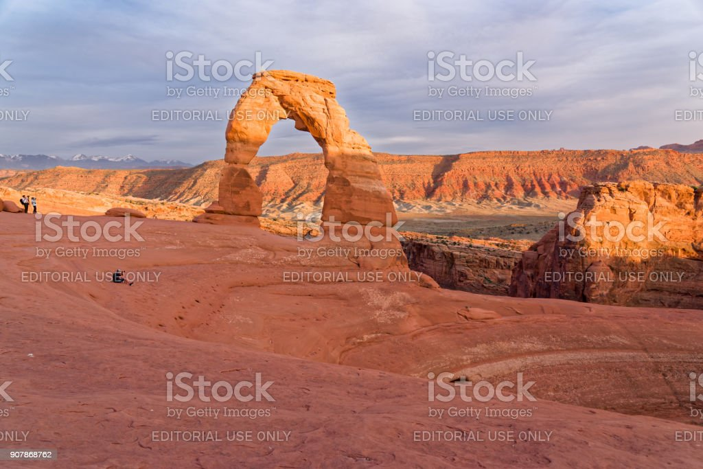 The Rocks of the Arches national Park stock photo