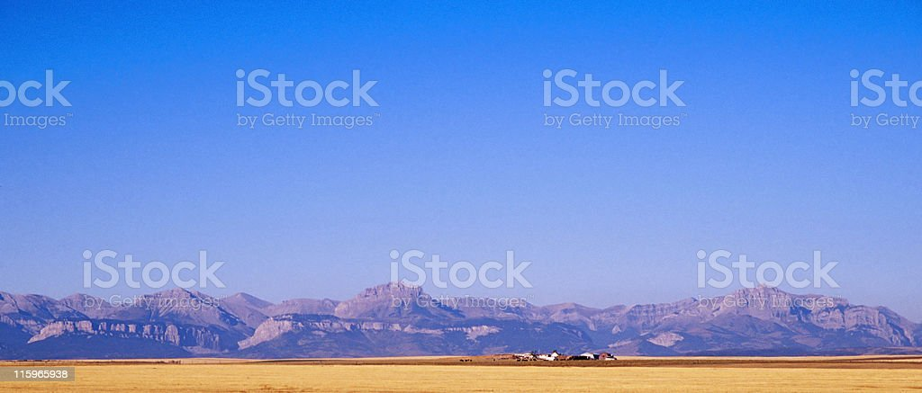 The Rocky mountains royalty-free stock photo