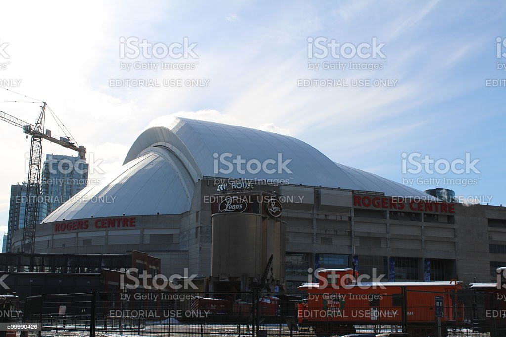 The Rogers Centre stock photo