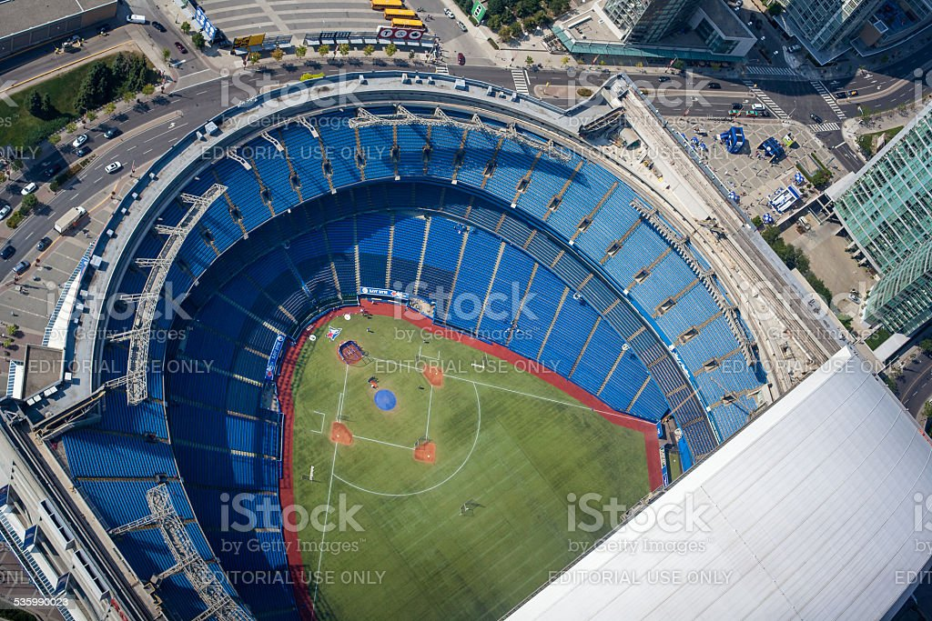 The Rogers Centre, Toronto stock photo