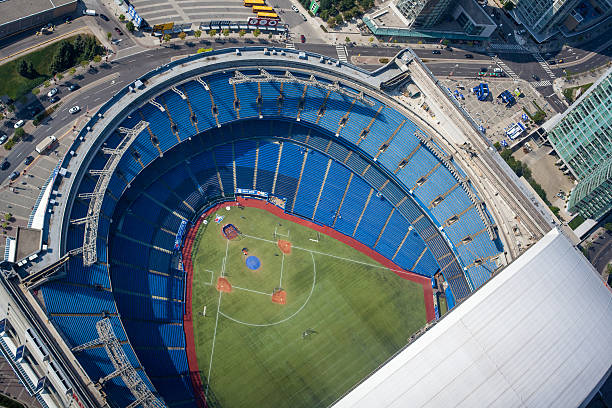 The Rogers Centre, Toronto stock photo