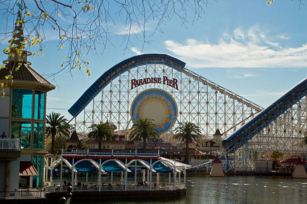 The rollercoaster at the paradise pier in disneyland picture id499261507?b=1&k=6&m=499261507&s=612x612&w=0&h=dfln6syqcfggal kl2hqxf8ai7gudh gfp0l4hzak s=