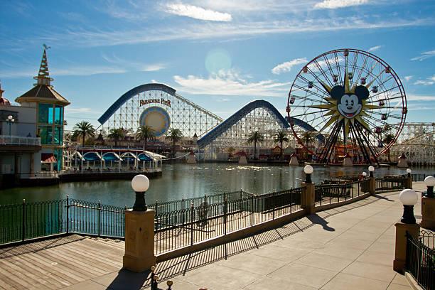 The rollercoaster at the paradise pier in disneyland picture id499261529?b=1&k=6&m=499261529&s=612x612&w=0&h=uhsdn6o2kww1efgmnnfaeodoowzbsmfvxftlbobggkq=