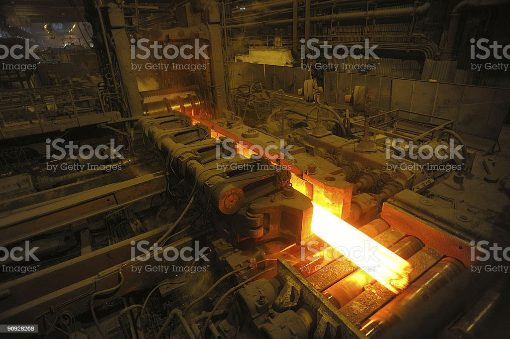 the rolling mill royalty-free stock photo