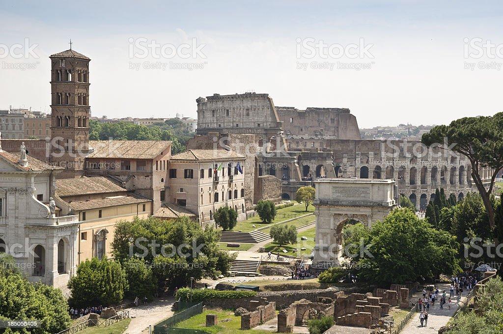 Das Forum Romanum – Foto