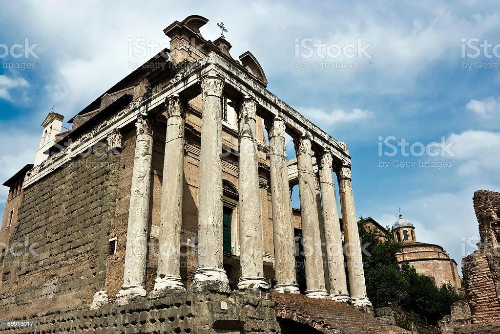 Римский форум Стоковые фото Стоковая фотография