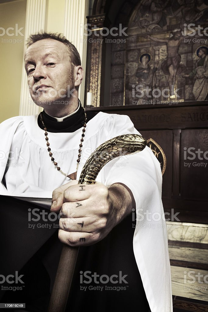 the root of all evil stock photo
