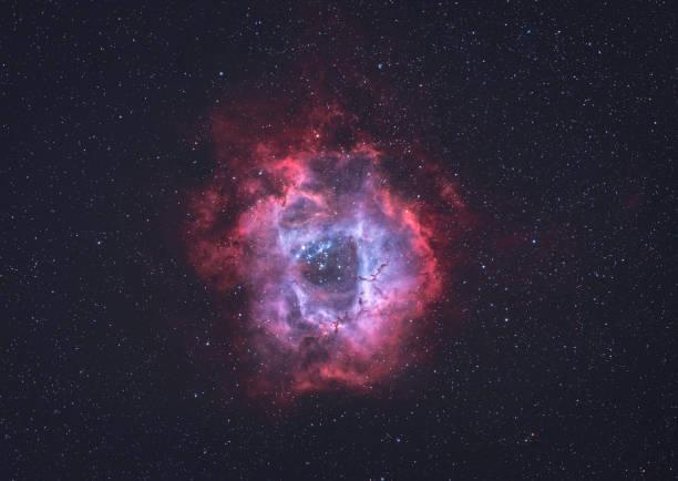 Der Rosettennebel (NGC 2244) im sichtbaren Licht – Foto