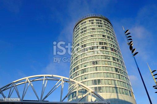 The Rotunda building in the Bullring Shopping Centre, Birmingham, England. XL image size.