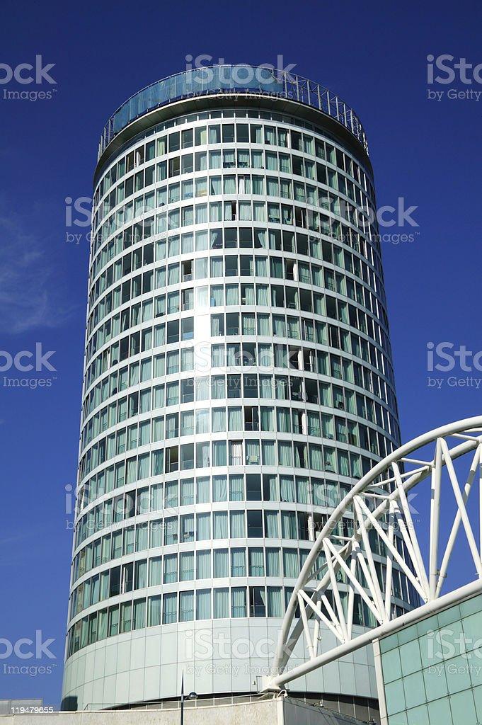 The Rotunda in Birmingham England royalty-free stock photo