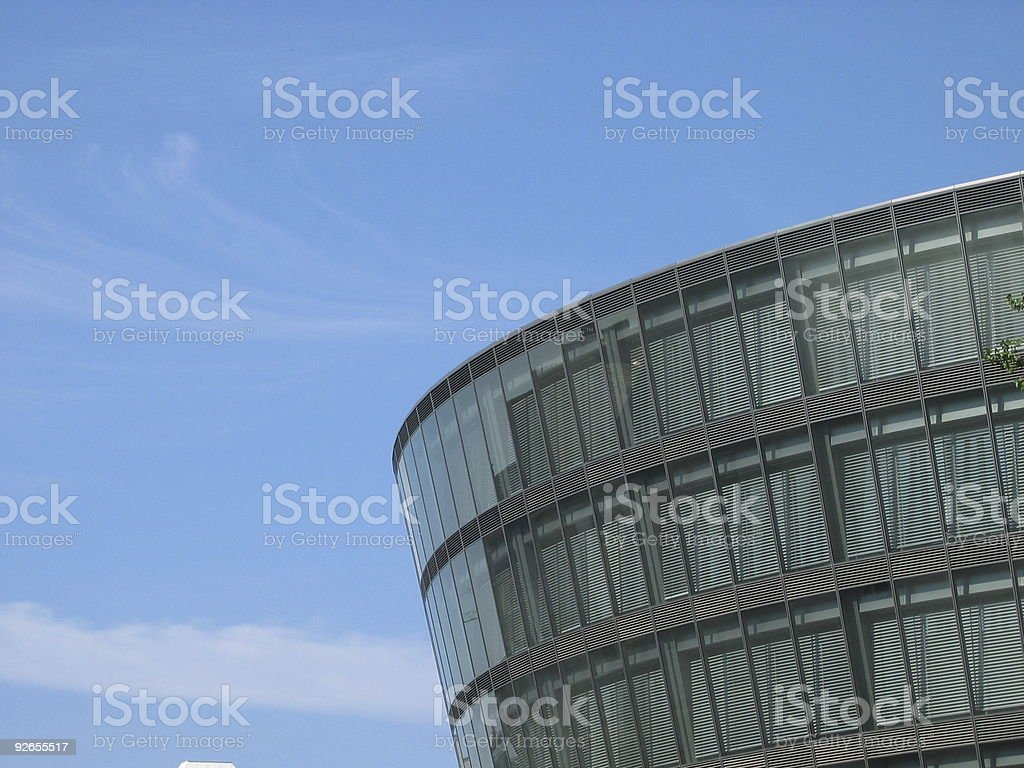 The round building royalty-free stock photo