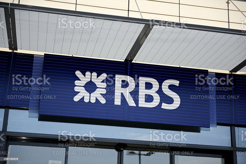 The Royal Bank Of Scotland logo stock photo