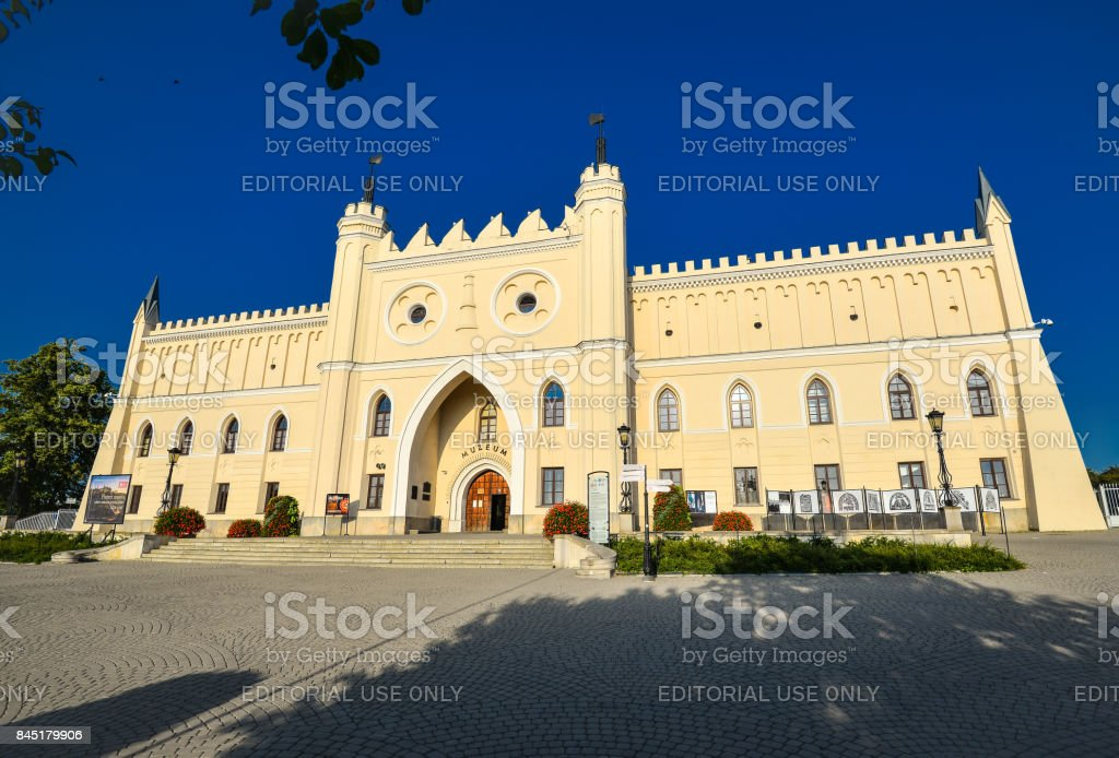 The Royal Castle of Lublin, Poland stock photo