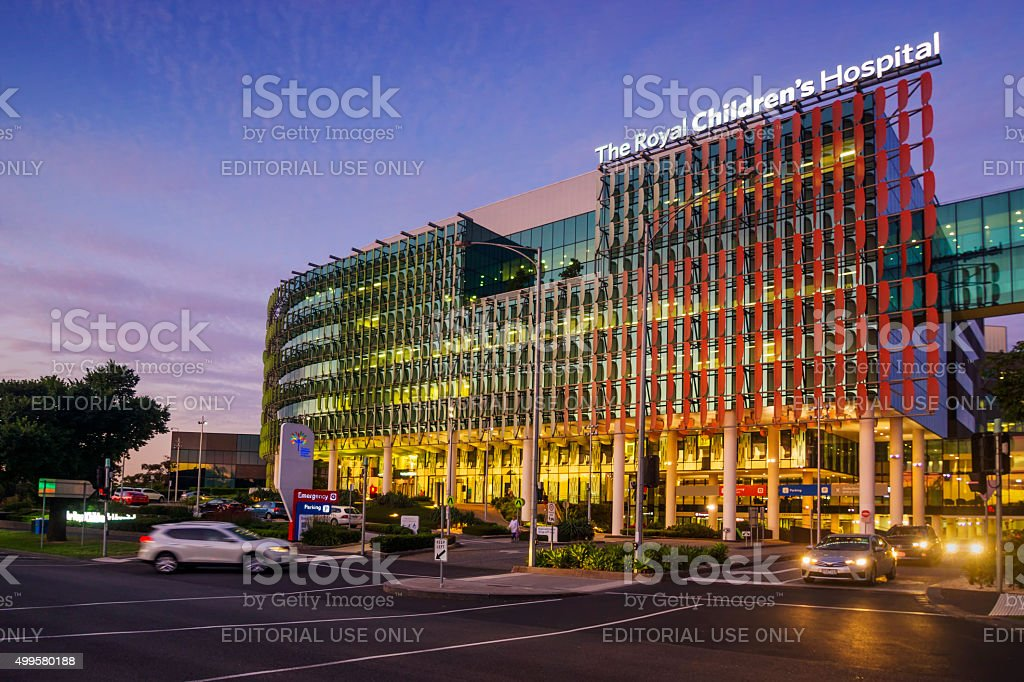 The Royal Children's Hospital stock photo