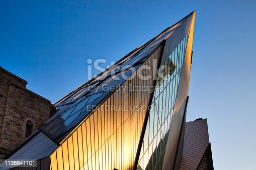 istock The Royal Ontario Museum is a museum of art, world culture and natural history in Toronto, Ontario, Canada 1138641101
