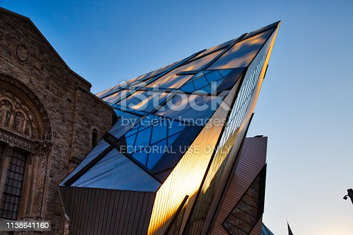 istock The Royal Ontario Museum is a museum of art, world culture and natural history in Toronto, Ontario, Canada 1138641160