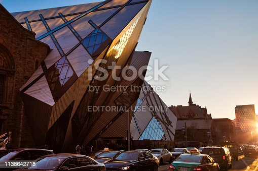 istock The Royal Ontario Museum is a museum of art, world culture and natural history in Toronto, Ontario, Canada 1138642718