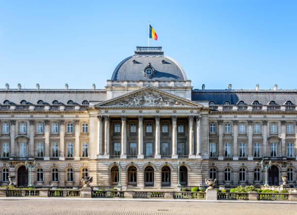 Le Palais Royal de Bruxelles, le Palais officiel du roi et la Reine des belges dans le centre historique de Bruxelles, Belgique. - Photo