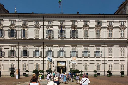 The Royal Palace of Turin or Palazzo Reale di Torino
