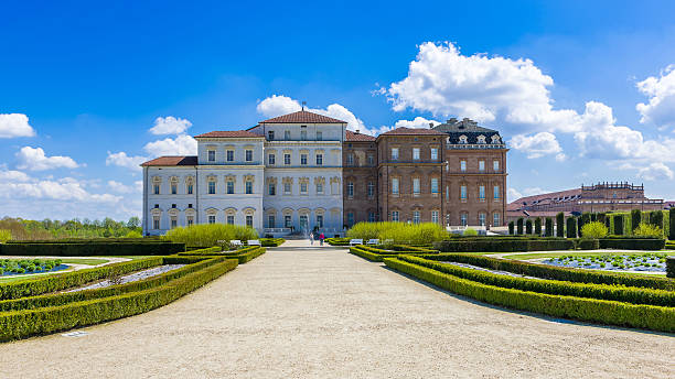 The Royal Palace of Venaria Venaria, Italy - April 12, 2016: The Royal Palace of Venaria, one of the residences of the royal house of Savoy, included in the Unesco Heritage List artistical stock pictures, royalty-free photos & images