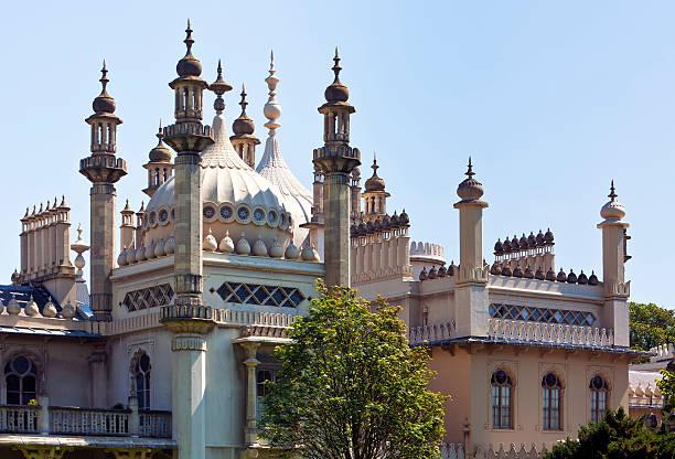 The Royal Pavilion at Brighton, England stock photo