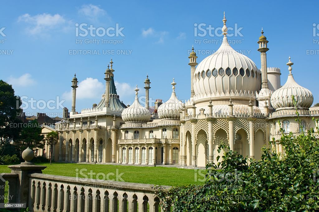 The Royal Pavilion. Brighton stock photo