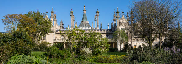 The Royal Pavilion in Brighton, UK stock photo