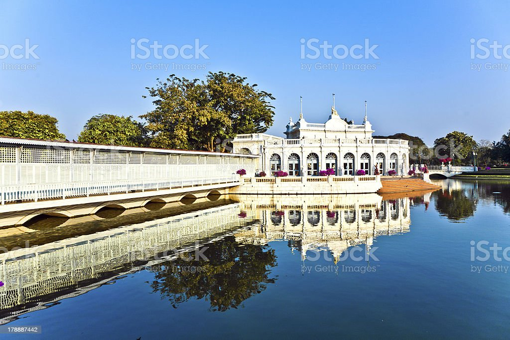 The Royal Residence (Phra Thinang) and Sages Lookout stock photo