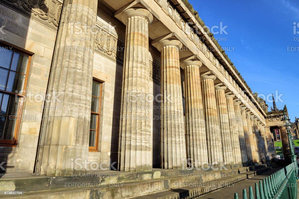 The Royal Scottish Academy, Edinburgh, Scotland stock photo