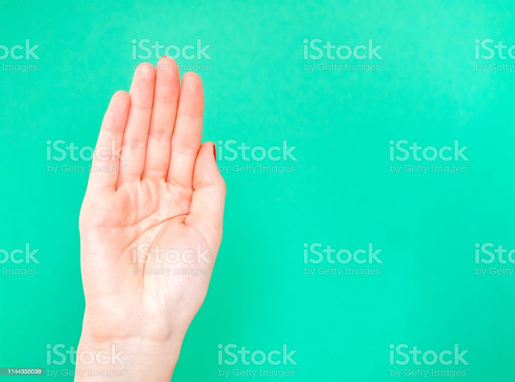 The Royal Wave Hand Sign. Feeling prim and proper Cup your hand just...