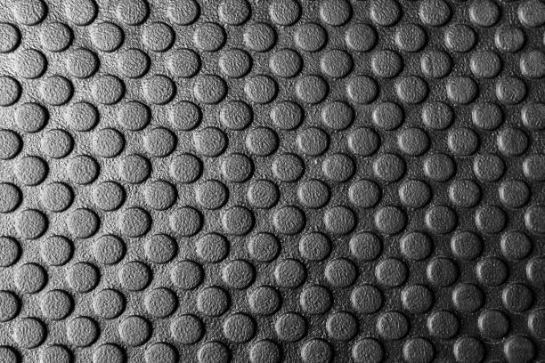 la gomma tappetini, tappeti in gomma - materiale gommoso foto e immagini stock