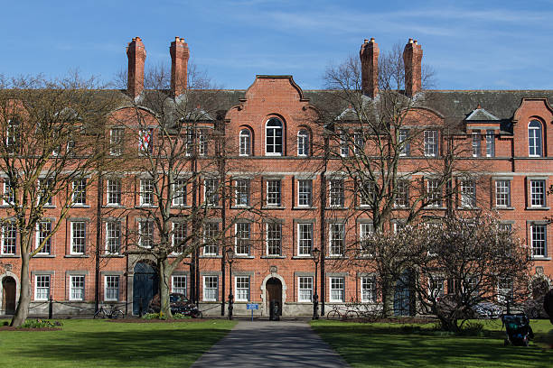 Die Rubrics house in das Trinity College in Dublin, Irland – Foto