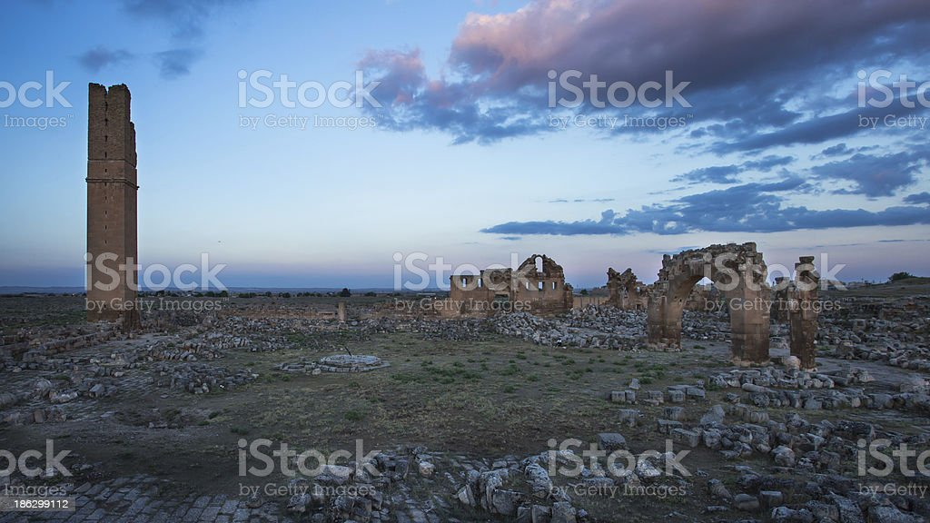 The ruin at Harran , Sanliurfa , Turkey royalty-free stock photo