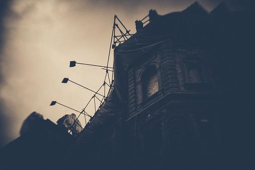 Budapest, vintage, lost place, ruin, obsolete, dark