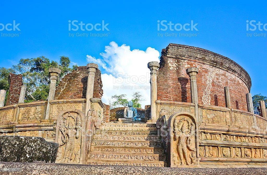 Les ruines de Polonnaruwa, Sri Lanka - Photo