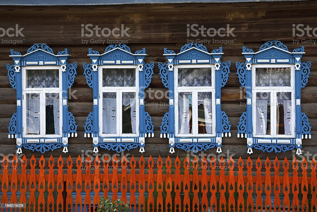 the rural house royalty-free stock photo