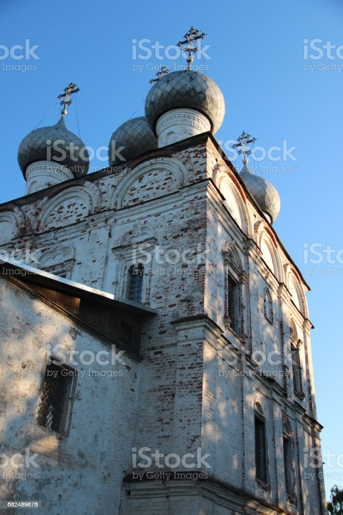 The Russian Orthodox Church in the Vologda, Russia royalty-free stock photo